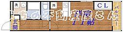 DITコート[1階]の間取り