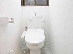 新規交換済。ウォシュレット付高機能トイレ。