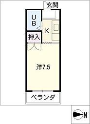 大平ビル[3階]の間取り