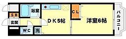 ノルデンハイム東三国 B棟[6階]の間取り