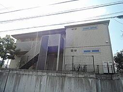 福岡県中間市中央5丁目の賃貸アパートの外観