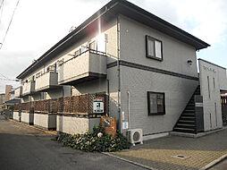 愛媛県松山市南江戸3丁目の賃貸アパートの外観