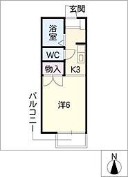 パストラルバンビ[2階]の間取り