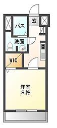 ステーションフロント八幡宿[6階]の間取り