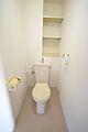 白基調のトイレ