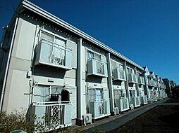 東京都三鷹市中原1丁目の賃貸アパートの外観