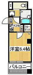 エフレジデンス壱拾八番館[4階]の間取り