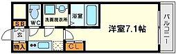 アーバンフラッツ新大阪1[10階]の間取り