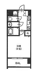 vivi恵美須[7階]の間取り