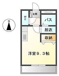 DREAM-NISHIZAKI II[202号室]の間取り