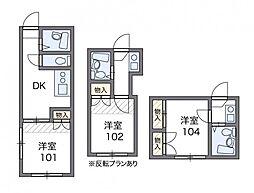 野方第16[1階]の間取り