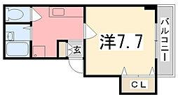 クレアトゥールOTUKA[302号室]の間取り