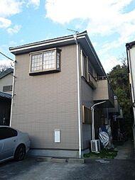 千葉県千葉市花見川区検見川町の賃貸アパートの外観