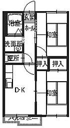 ハイム29[1階]の間取り