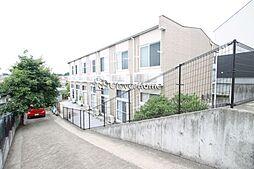 神奈川県横浜市緑区新治町の賃貸アパートの外観
