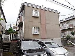千葉県佐倉市中志津3の賃貸アパートの外観