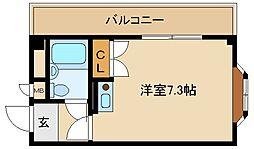 小田ビル[201号室]の間取り