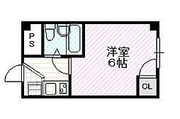 ジョイス千林[5階]の間取り
