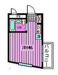 プレステージ浦和[3階]の間取り