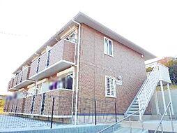 神奈川県平塚市北金目3丁目の賃貸アパートの外観