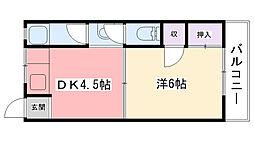 藤岡マンション[305号室]の間取り
