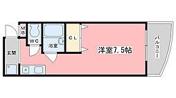 アーク醍醐[303号室]の間取り