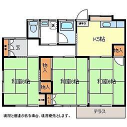 [一戸建] 長野県長野市若宮2丁目 の賃貸【/】の間取り