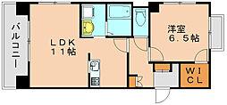 ヘリオスマンション[5階]の間取り