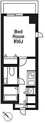 サンテラス赤坂[2階]の間取り
