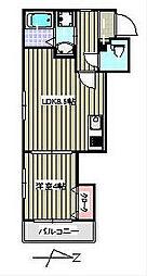 ユゥ&ミィ金山駅前D棟[3階]の間取り