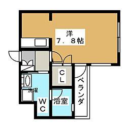 ベラジオ京都駅東II[4階]の間取り