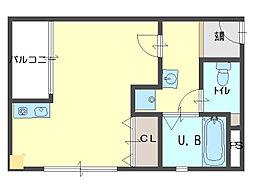 アークYマンション[202号室]の間取り