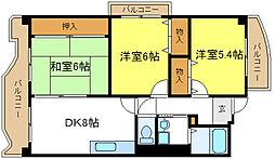 KMコートあびこ[6階]の間取り