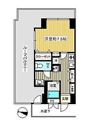 東京都練馬区春日町2丁目の賃貸マンションの間取り