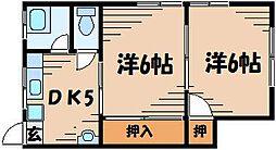 広島県安芸郡府中町清水ケ丘の賃貸アパートの外観