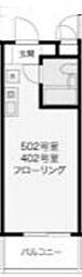 TCRE新百合ヶ丘[4階]の間取り