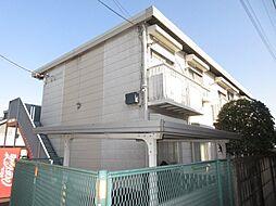 東京都昭島市郷地町3丁目の賃貸アパートの外観