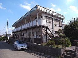 飯田ハイツ 1号棟[2階]の外観