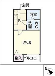 ラピュタ7[2階]の間取り