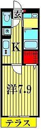 メゾンクレール墨田[3階]の間取り