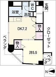 田中ビル[7階]の間取り