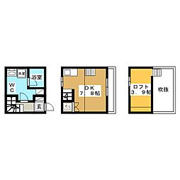 porto maison[1階]の間取り