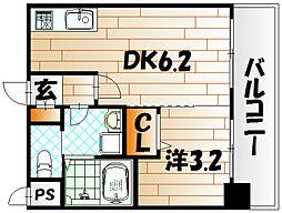 No.71 オリエントトラストタワー[27階]の間取り