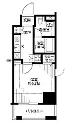 プレール・ドゥーク東京EAST IV RiverSide[10階]の間取り