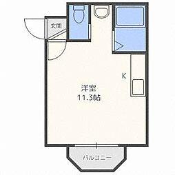 SビルドN38[2階]の間取り