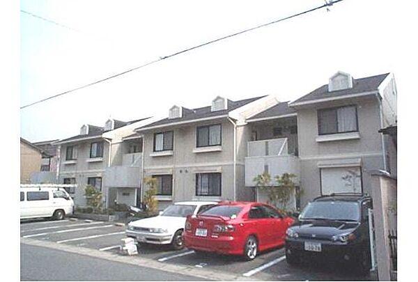 京都府京都市北区西賀茂鹿ノ下町の賃貸アパートの外観