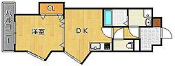 ヒット馬借BLD[4階]の間取り