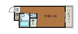 マドレーヌ原町田[1階]の間取り