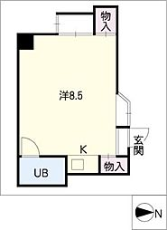 Progress錦[6階]の間取り