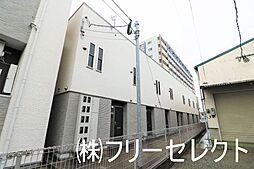 福岡県福岡市博多区吉塚1の賃貸アパートの外観